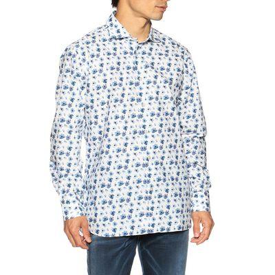 BORRIELLO(ボリエッロ)フラワープリントシャツ