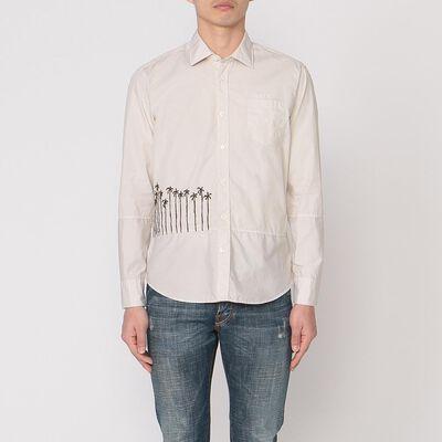 OSVALDO TRUCCHI(オズヴァルド トルッキ)刺繍シャツ