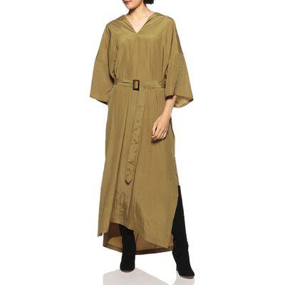 SHAINA MOTE(シャイナ モート)Vネックロングドレス