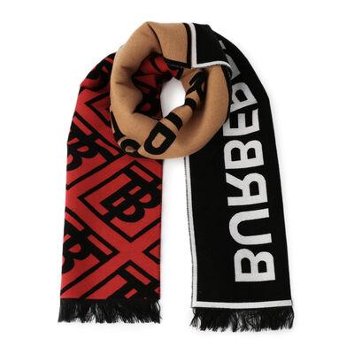BURBERRY(バーバリー)ロゴスカーフ
