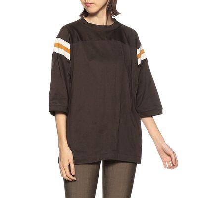 MADISONBLUE(マディソンブルー)プリントラインTシャツ