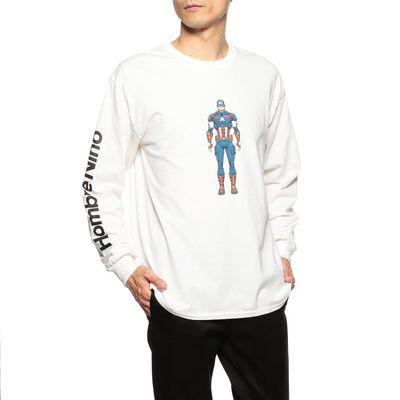 HOMBRE NINO(オンブレニーニョ)限定ロングスリーブプリントTシャツ