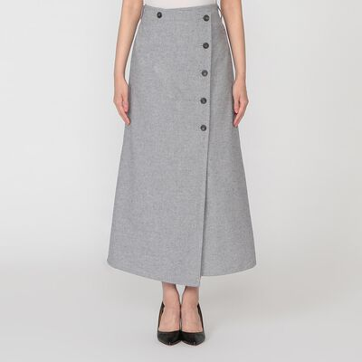 BARNEYS NEW YORK(バーニーズ ニューヨーク)エコデニムラップスカート