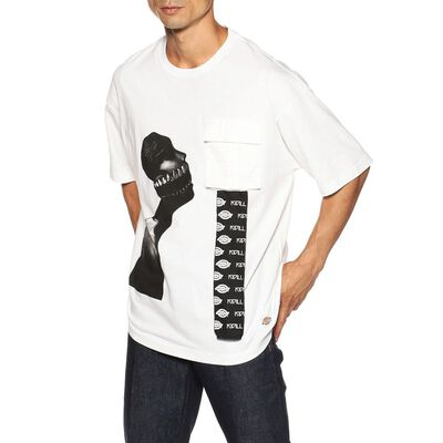 KIDILL(キディール)KIDILL×DICKIES プリントTシャツ