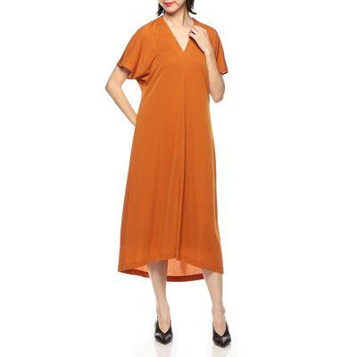BARNEYS NEW YORK(バーニーズ ニューヨーク)ウォッシャブルジャージーVネックドレス