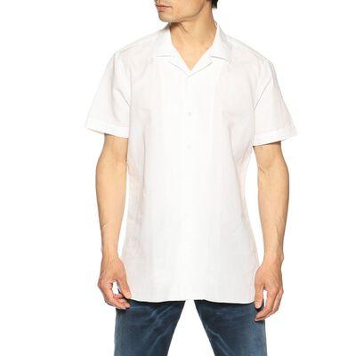 BORRIELLO(ボリエッロ)リネンコットンオープンカラーシャツ