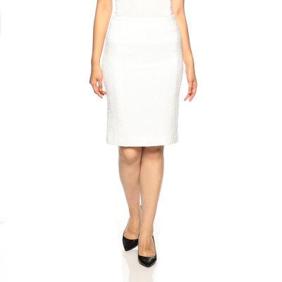 BARNEYS NEW YORK(バーニーズ ニューヨーク)セットアップツイードタイトスカート
