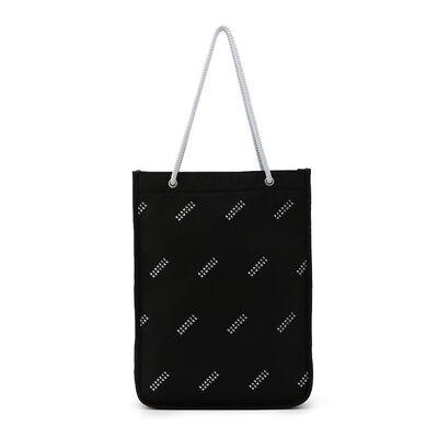 BARNEYS NEW YORK(バーニーズ ニューヨーク)ロゴプリントショッパーバッグ