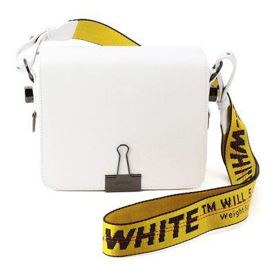 OFF-WHITE c/o VIRGIL ABLOH(オフ-ホワイト c/o ヴァージル アブロー)フラップショルダーバッグ