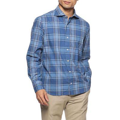 FINAMORE(フィナモレ)チェックシャツ