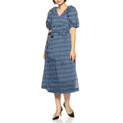 BAUM UND PFERDGARTEN(バウム ウンド ヘルガーテン)ギンガムチェック柄ドレス