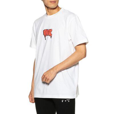 OFF-WHITE c/o VIRGIL ABLOH(オフ-ホワイト c/o ヴァージル アブロー)プリントTシャツ