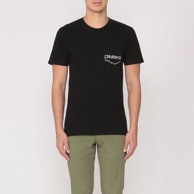 LOCAL AUTHORITY(ローカルオーソリティー)ポケット付きプリントTシャツ