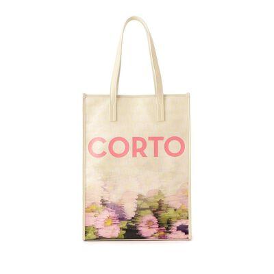 CORTO MOLTEDO(コルトモルテド)フラワープリントバッグ