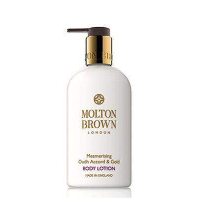 """MOLTON BROWN(モルトンブラウン)ボディローション """"ウード・アコード&ゴールド"""" 300ml"""