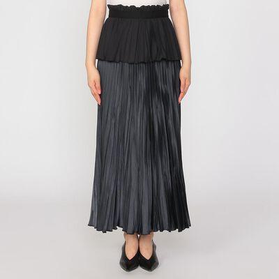 MULLER OF YOSHIOKUBO(ミュラー オブ  ヨシオクボ)ロングプリーツスカート