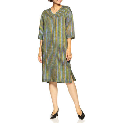 BARNEYS NEW YORK(バーニーズ ニューヨーク)ジオメトリック柄ドレス