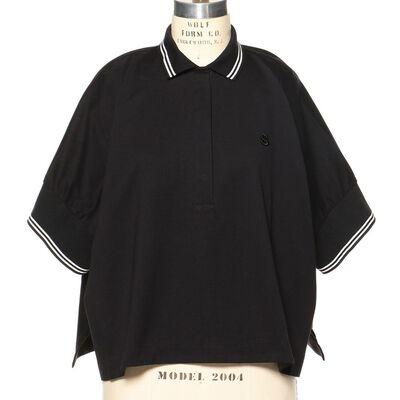SACAI(サカイ)チュールポロシャツ