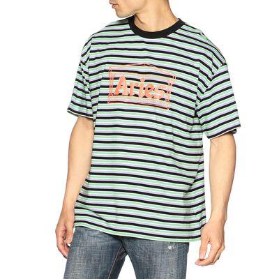 ARIES(アリーズ)プリントボーダーTシャツ