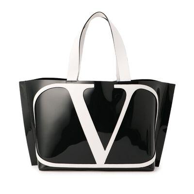 VALENTINO GARAVANI(ヴァレンティノ ガラヴァーニ)ロゴ入りクリアトートバッグ