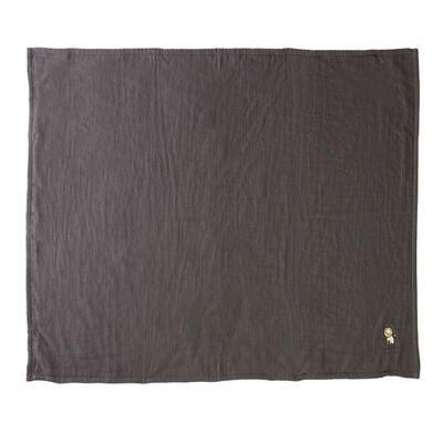 BARNEYS NEW YORK(バーニーズ ニューヨーク)ライオンマシュマロガーゼスロー(100×140サイズ)