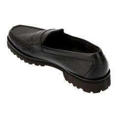 Lug Sole Penny Loafer 2140316: Black Grain