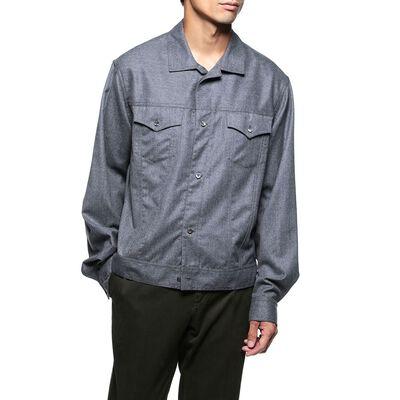 BAGUTTA(バグッダ)ウールシャツジャケット