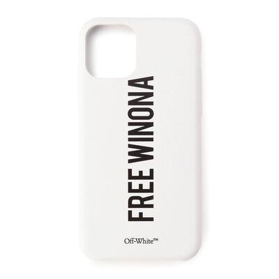 OFF-WHITE c/o VIRGIL ABLOH(オフ-ホワイト c/o ヴァージル アブロー)スマートフォンケース(iPHONE 11 PRO対応)
