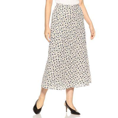 BARNEYS NEW YORK(バーニーズ ニューヨーク)ウォッシャブルフラワープリントスカート