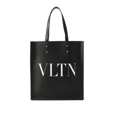 VALENTINO(ヴァレンティノ)ロゴレザートートバッグ
