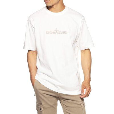 STONE ISLAND(ストーンアイランド)ロゴプリントTシャツ