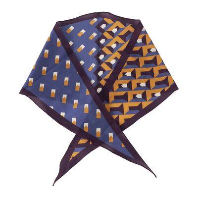 ALTEA(アルテア)ジオメトリック柄スカーフ