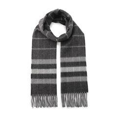 Lambswool Angora Scarf 2103780: Grey