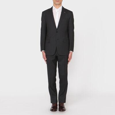 BARNEYS NEW YORK(バーニーズ ニューヨーク)ストライプ柄スーツ