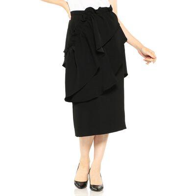 AKIRA NAKA(アキラ ナカ)フリルミディスカート