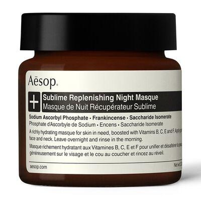 AESOP(イソップ)サブライム リプレニッシング ハイドレーション ナイト マスク 60ml