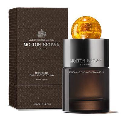 """MOLTON BROWN(モルトンブラウン)オードパルファム """"ウード・アコード&ゴールド"""" 100ml"""