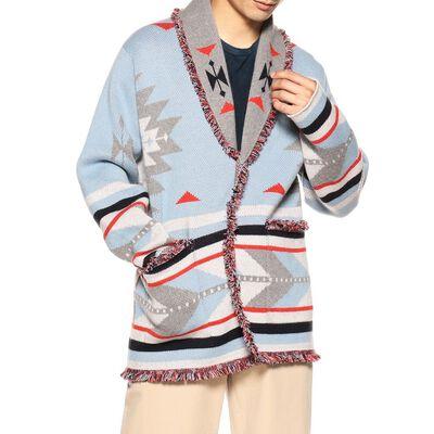 ALANUI(アラヌイ)限定ナバホ柄カシミヤニットジャケット