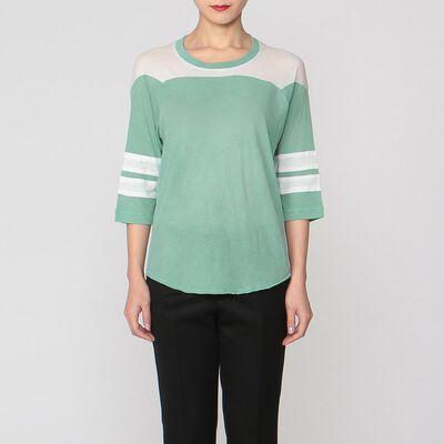 NSF(エヌエスエフ)カラーブロックTシャツ