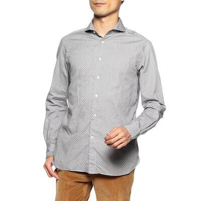 CATARISANO(カタリザーノ)小紋柄シャツ
