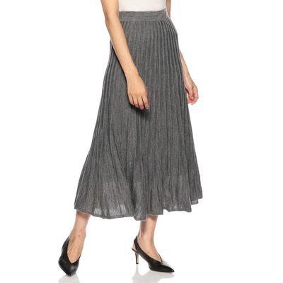 BARNEYS NEW YORK(バーニーズ ニューヨーク)ウォッシャブルリブニットロングスカート
