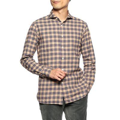 CATARISANO(カタリザーノ)タータンチェック柄シャツ