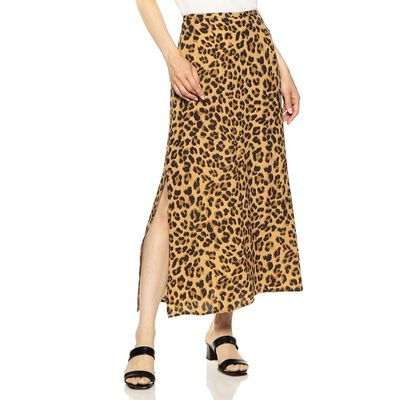 KIVARI(キバリ)レオパードプリントスカート