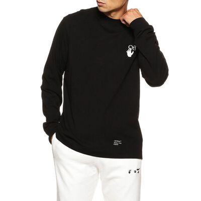 OFF-WHITE c/o VIRGIL ABLOH(オフ-ホワイト c/o ヴァージル アブロー)バックプリントロングスリーブTシャツ