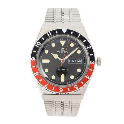 "TIMEX(タイメックス)ウォッチ ""TIMEX Q TW2U61300 BLACK/RED"""