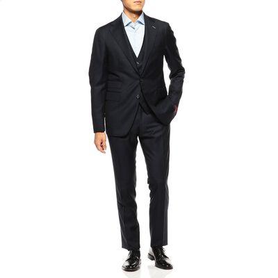 TAGLIATORE(タリアトーレ)ヘリンボーン3ピーススーツ