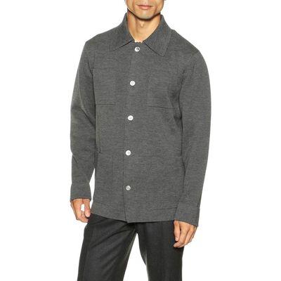 CRUCIANI(クルチアーニ)ミラノリブニットシャツジャケット