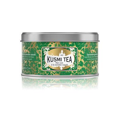 """KUSMI TEA(クスミティー)緑茶 """"スペアミントグリーンティー"""" 25g"""