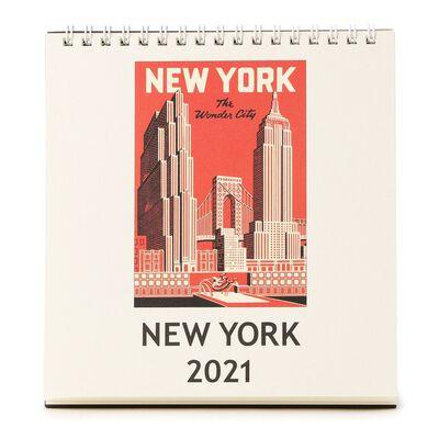 """CAVALLINI(カヴァリーニ)2021年デスクカレンダー """"NEW YORK"""""""