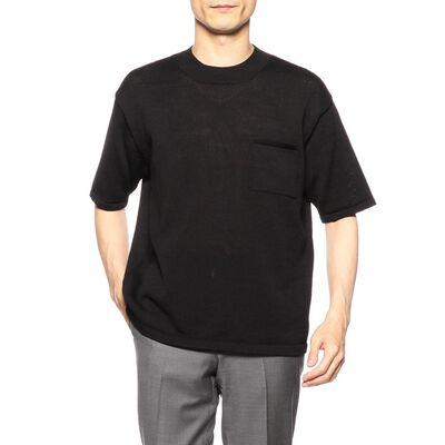 BARNEYS NEW YORK(バーニーズ ニューヨーク)モックネックニットTシャツ